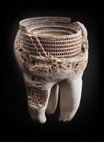 Tooth as a work of art